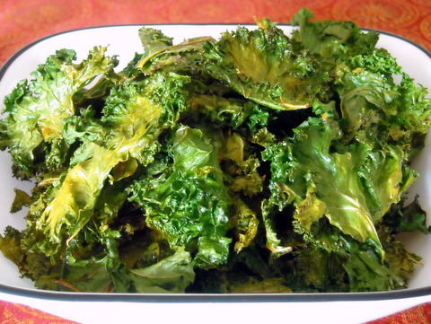 Kale chips | Blooming Vegan