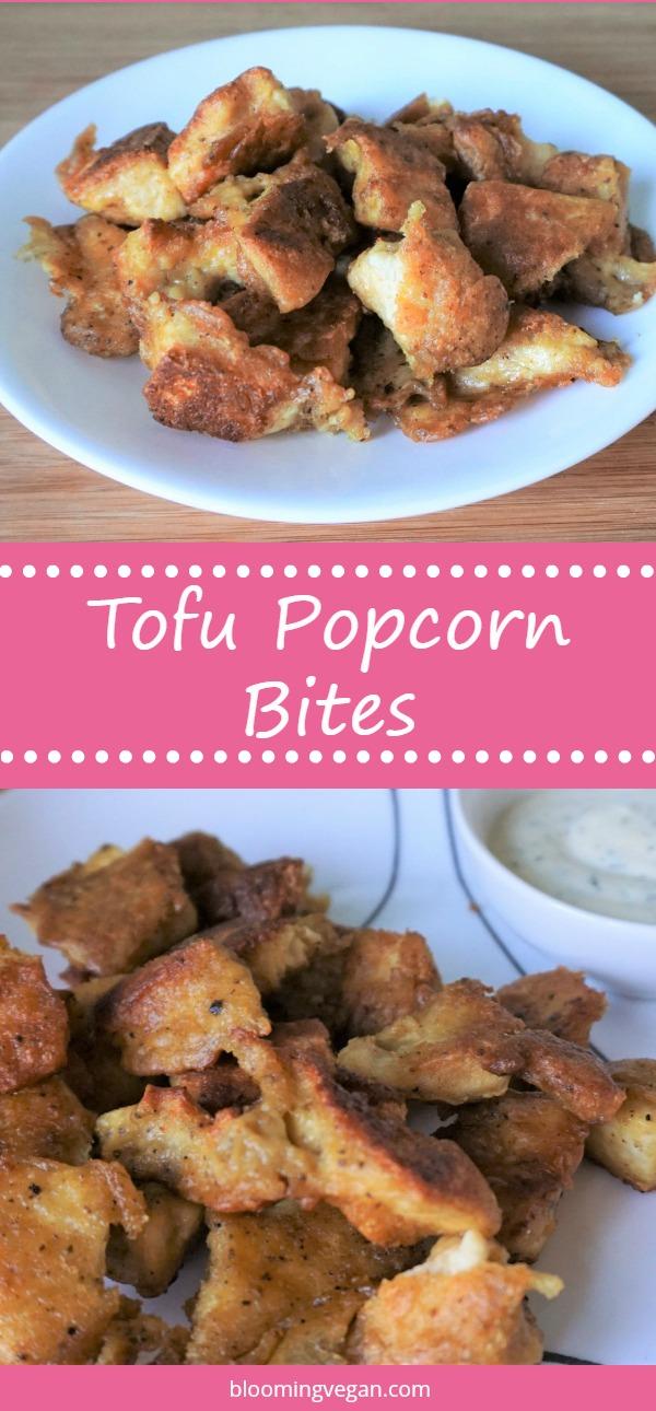 Tofu Popcorn Bites | Blooming Vegan