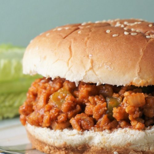 Vegan Sloppy Joes | Blooming Vegan