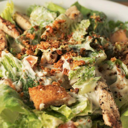 Vegan Caesar Salad | Blooming Vegan