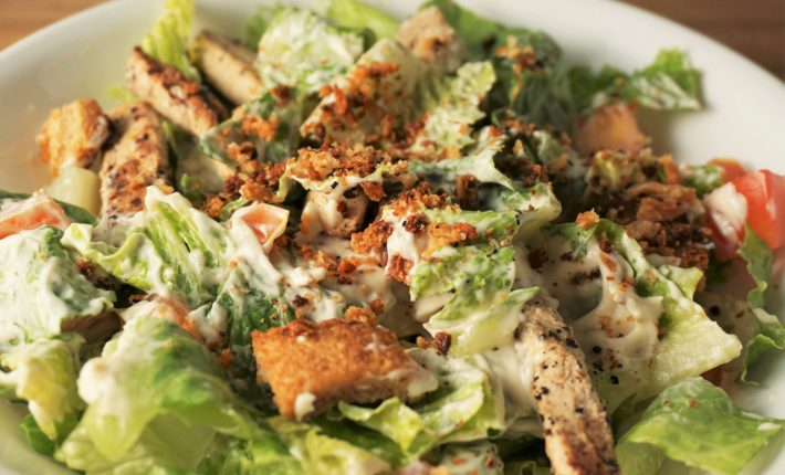 Vegan Caesar Salad | Blooming Vegan