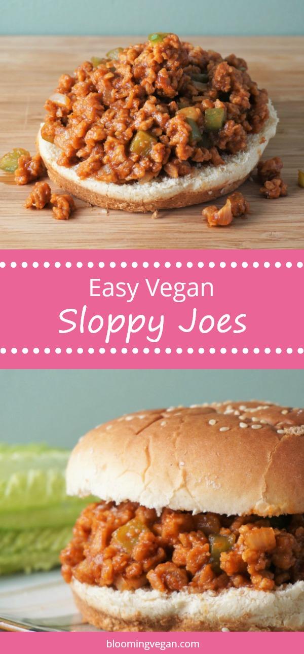 Easy Vegan Sloppy Joes | Blooming Vegan